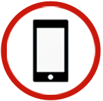 2015-Cellular Icon with background